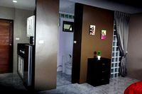 price booking studio, kitchen area for breakfast, bathroom shower, private toilet